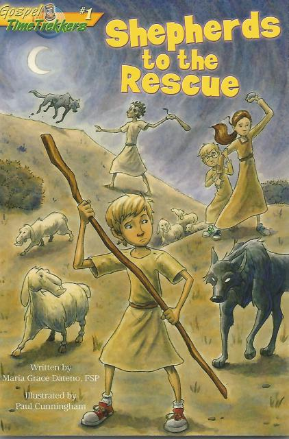 Image for Shepherds to the Rescue (Gospel Time Trekkers #1)