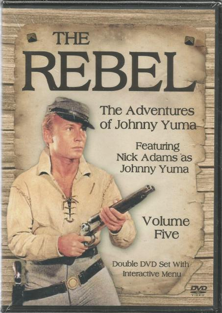 Image for The Rebel The Adventures of Johnny Yuma Vol. 5 New DVD