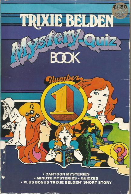 Trixie Belden Mystery Quiz Book # 1, Kathryn Kenny