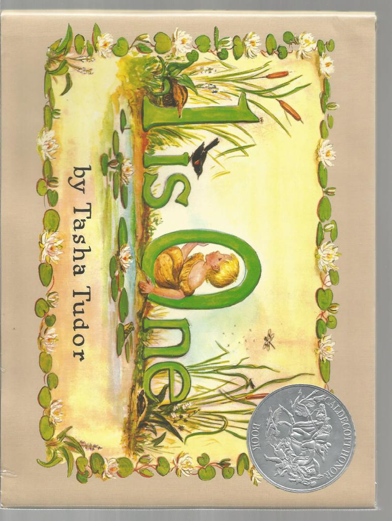 1 Is One Tasha Tudor Hardback w Dust Jacket, Illustrator-Tasha Tudor
