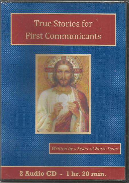 True Stories for First Communicants Catholic Children's Audiobook CD Set, a Sister of Notre Dame
