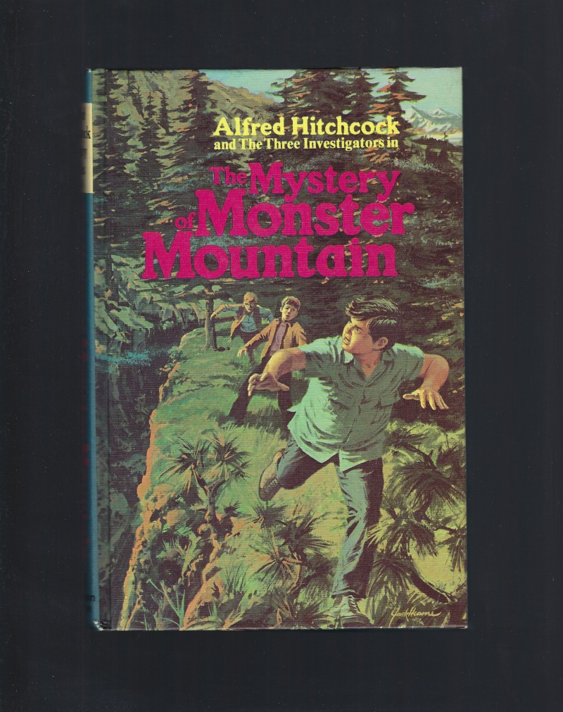 The Mystery of Monster Mountain #20 1st Printing Three Investigators Hardback, M.V. Carey