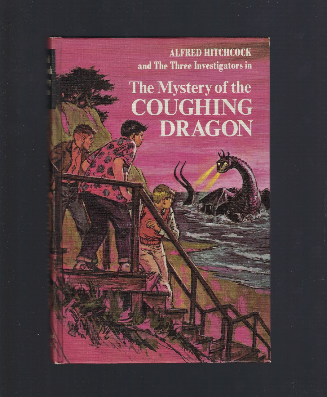 Mystery of the Coughing Dragon #14 Three Investigators Hardback, Nick West; Harry Kane [Illustrator]
