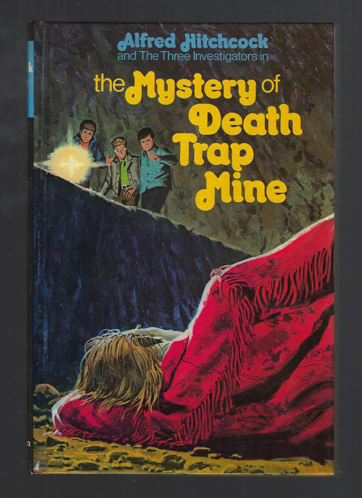 The Mystery of Death Trap Mine (Three Investigators #24) First Printing Hardback, Hitchcock, Alfred