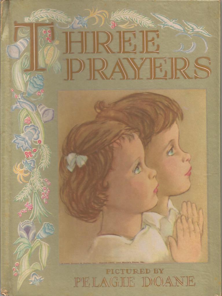 Image for Three Prayers Pictured by Pelagie Doane 1945