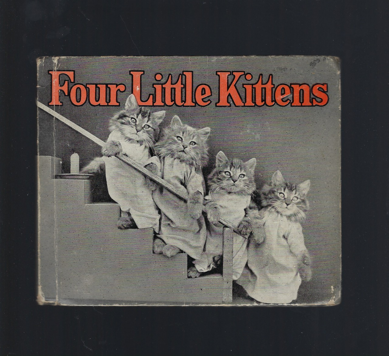Four Little Kittens 1934 First Edition Hardback Harry W Frees, Harry Whittier Frees