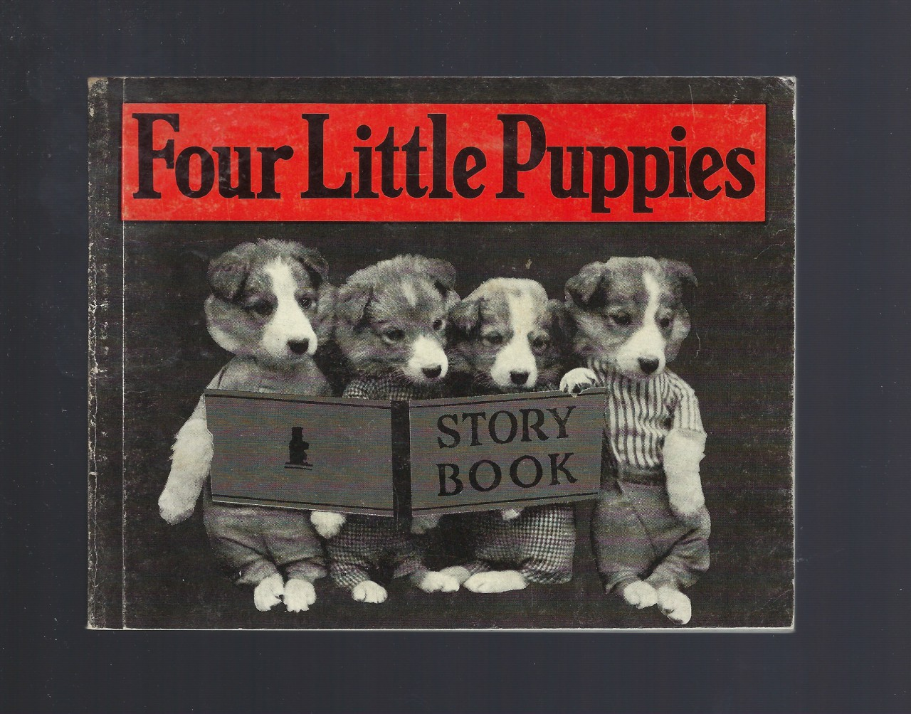 Four Little Puppies Story Book, Frees, Harry Whittier