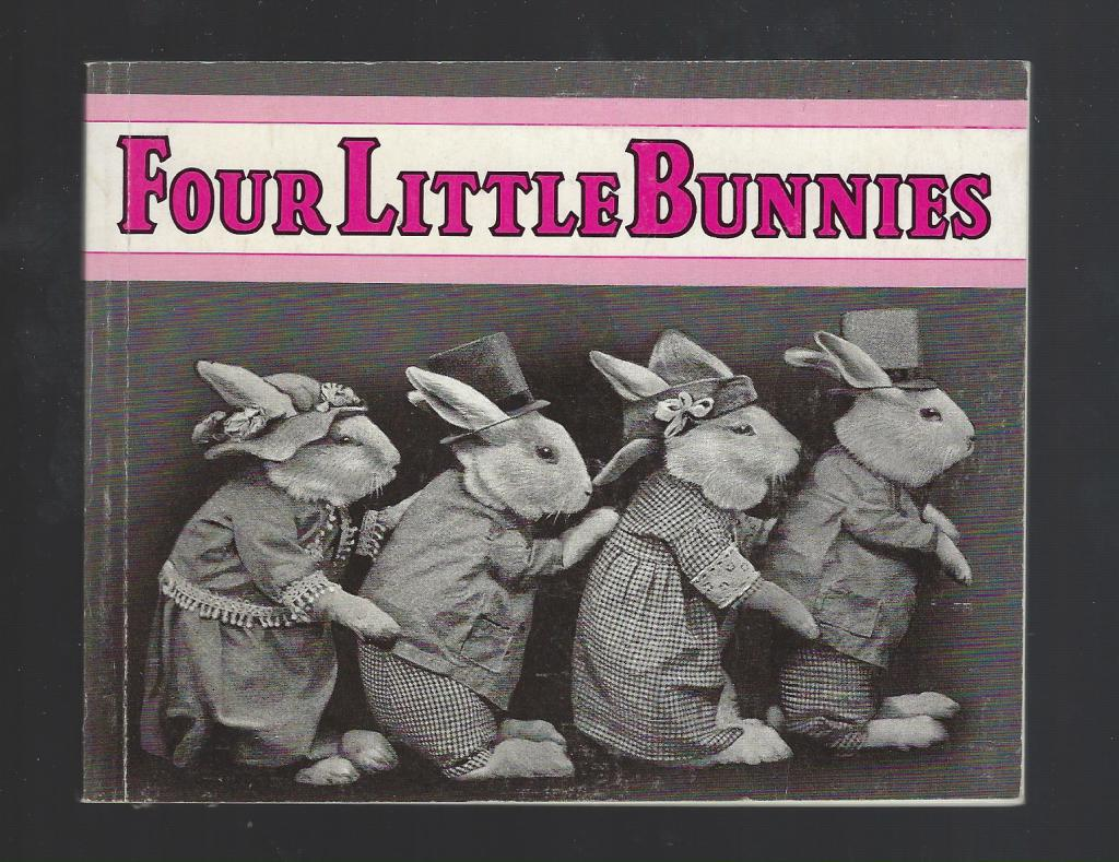 Four Little Bunnies by Harry Whittier Frees, Photographer-Harry Whittier Frees