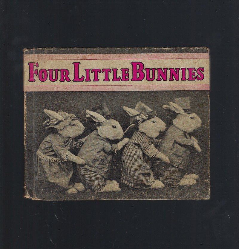 Four Little Bunnies 1935 Vintage Photos, Harry Whittier Frees
