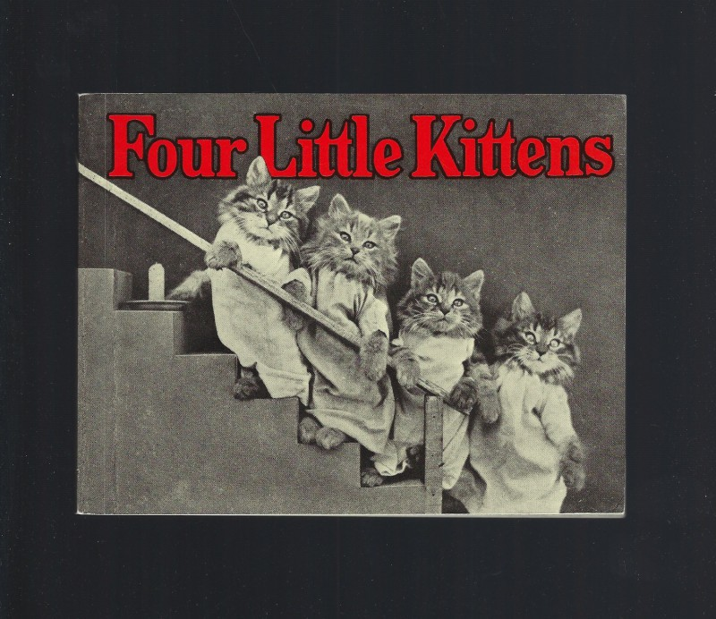 Four Little Kittens Softcover Photos By Harry Whittier Frees Excellent Condition, Harry Whittier Frees
