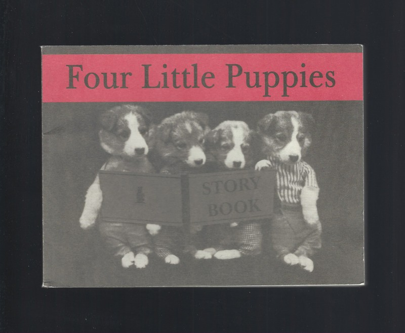 Four Little Puppies Story Book Vintage Reprint Harry W. Frees, Harry Whittier Frees