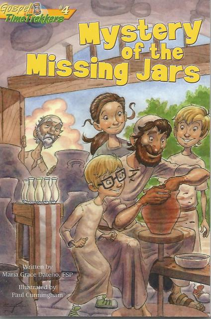 Image for The Mystery of the Missing Jars (Gospel Time Trekkers #4)