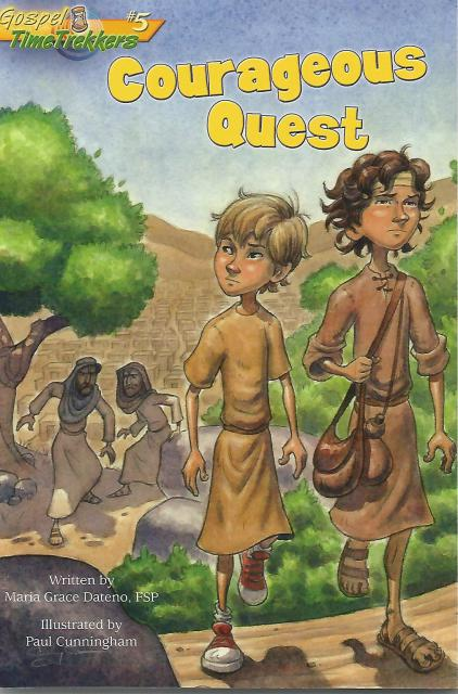 Image for Courageous Quest (Gospel Time Trekkers #5)