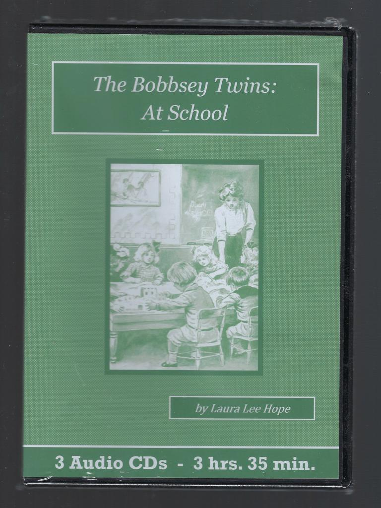 The Bobbsey Twins at School Children's Audiobook CD Set, Laura Lee Hope