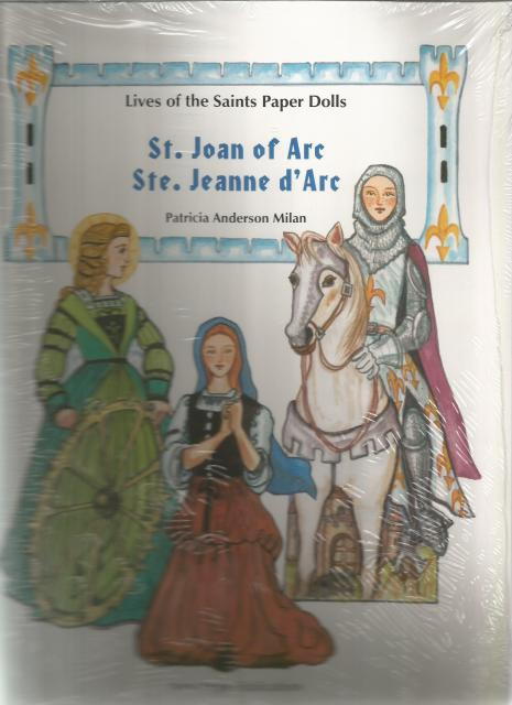 St Joan of Arc Paper Dolls Lives of the Saints, Patricia Anderson Milan