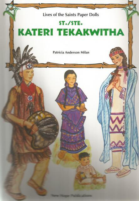 Image for Saint Kateri Tekakwitha Lives Of The Saints Paper Dolls