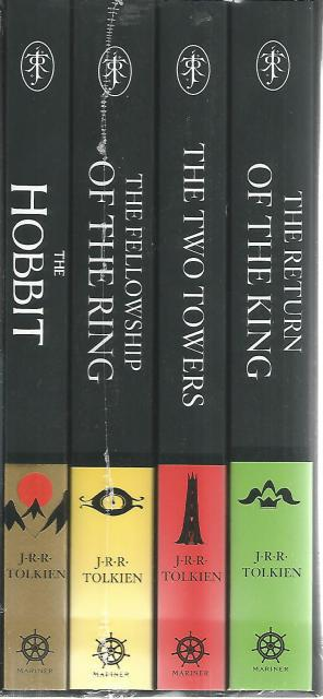 The Hobbit and The Lord of the Rings New 4 Book Boxed Set, J.R.R. Tolkien