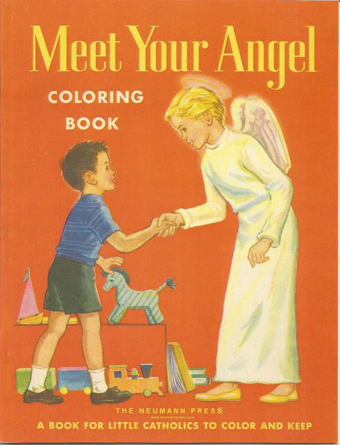 Meet Your Angel Coloring Book Neumann Press, J. P. M. Van Der Ploeg