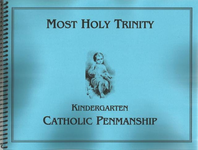 Image for Catholic Penmanship Kindergarten Spiral Bound