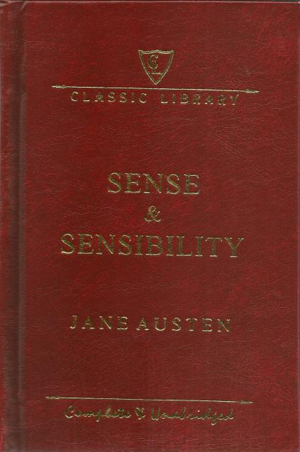 Image for Sense and Sensibility Complete and Unabridged Hardback