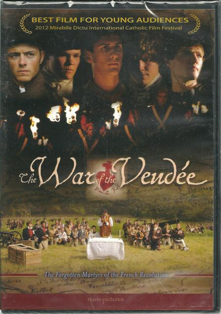 The War of the Vendee Forgotten Martyrs of the French Revolution New DVD