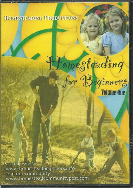 Homesteading for Beginners Volume One DVD