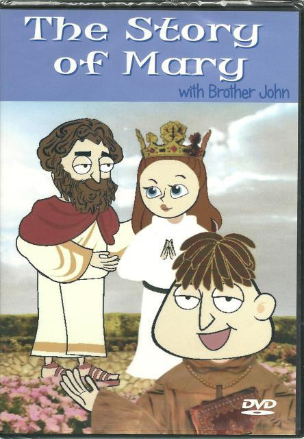 Image for The Story of Mary with Brother John (New DVD)