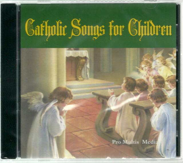 Catholic Songs for Children New Audio CD, Narrator-Matthew Arnold