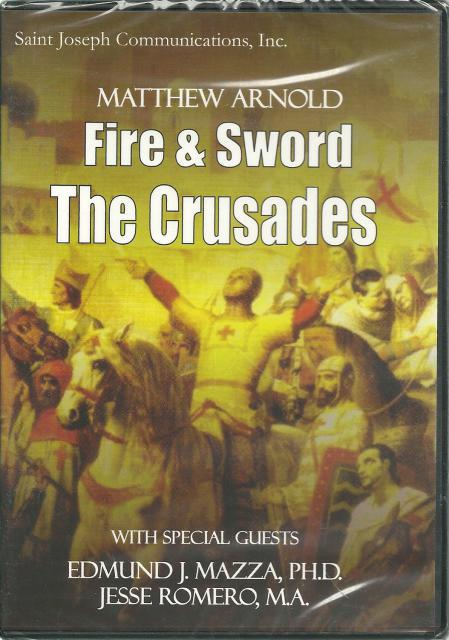 Fire and Sword The Crusades New Sealed DVD, Matthew Arnold