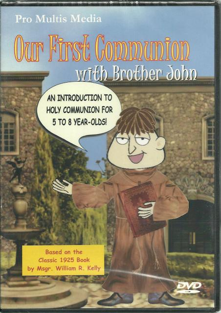 Image for Our First Communion with Brother John (New DVD)