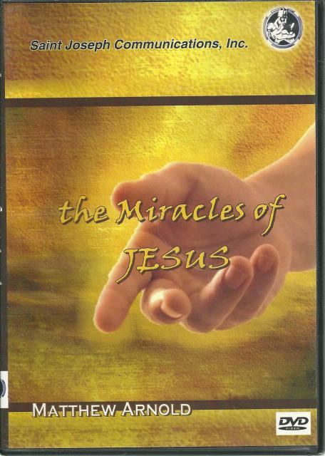 The Miracles of Jesus DVD, Narrator-Matthew Arnold