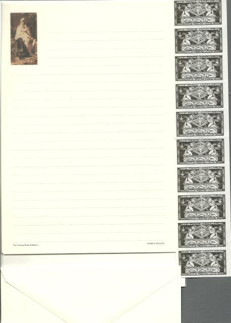 Our Lady of Olives Stationery Catholic 10 Piece Collection, Unknown