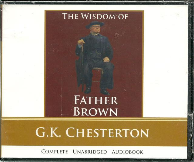 Image for The Wisdom of Father Brown (G.K. Chesterton) - Audio Book CD
