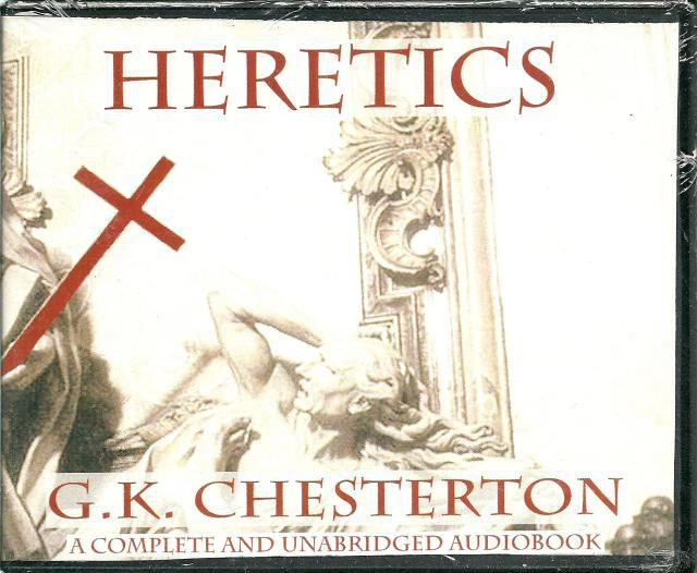 Image for Heretics G. K. Chesterton Audio Book CD