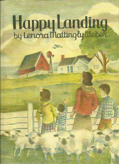 Happy Landing by Lenora Mattingly Weber (Beany Malone Author), Lenora Mattingly Weber