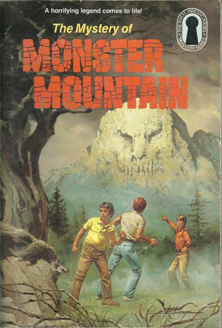 Mystery of Monster Mountain Three Investigators # 20, M. V. Carey