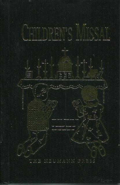 St. Joseph Children's Missal - Black Neumann Press OOP, Fr. H. Hoever