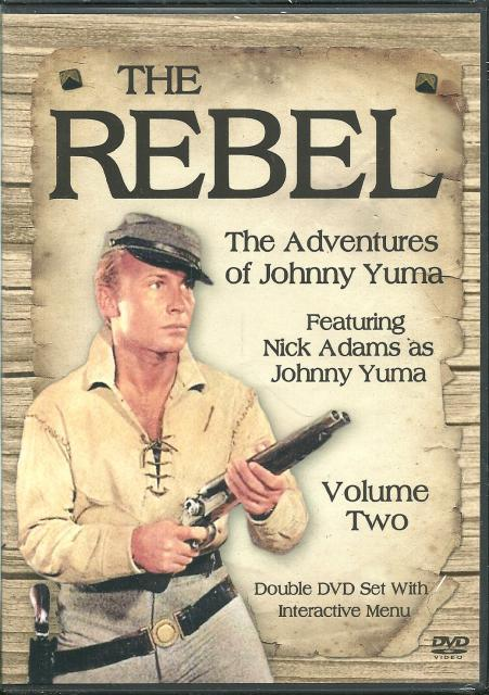 Image for The Rebel The Adventures of Johnny Yuma Vol. 2 New DVD