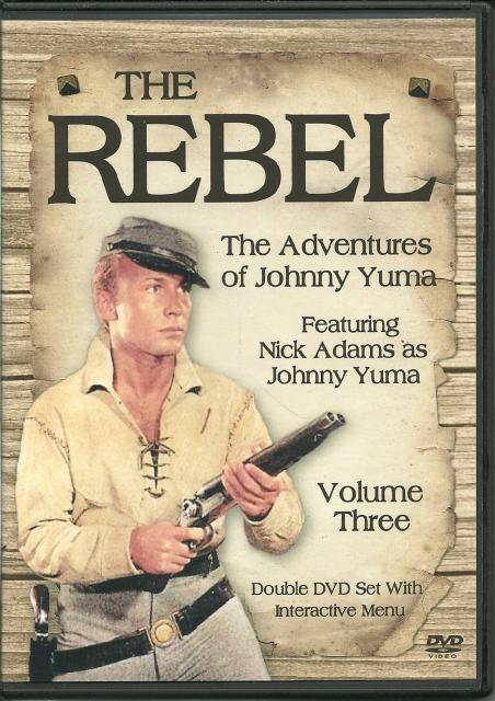 Image for The Rebel The Adventures of Johnny Yuma Vol. 3 New DVD