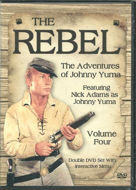 Image for The Rebel The Adventures of Johnny Yuma Vol. 4 New DVD