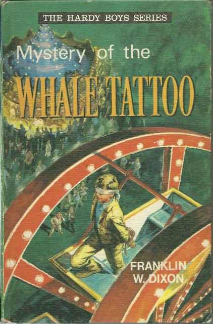 Mystery of the Whale Tattoo #4 Hardy Boys British Import, Franklin Dixon
