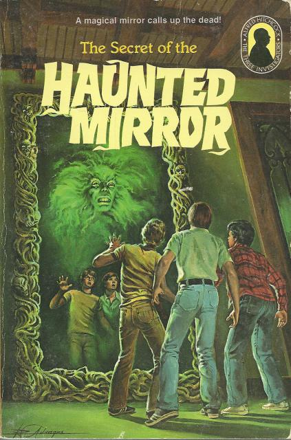 Three Investigators The Secret of the Haunted Mirror #21, M. V. Carey