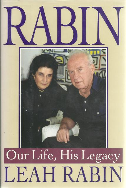 Image for Rabin: Our Life, His Legacy Signed By Author (Rabin's Wife) Now Deceased New HB/DJ