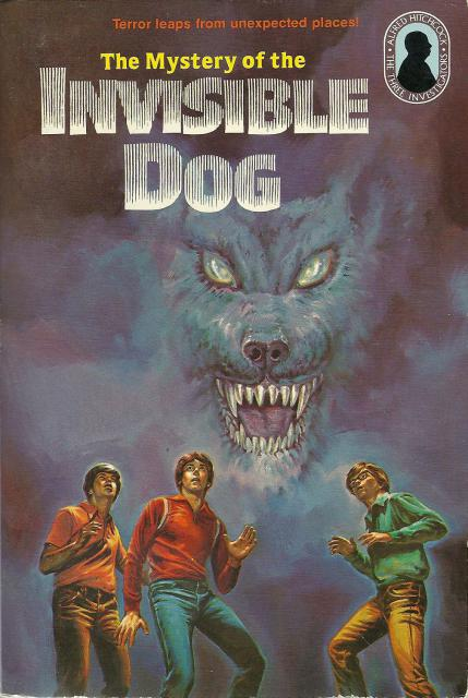 The Mystery of the Invisible Dog #23 Three Investigators, M V Carey
