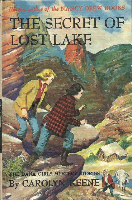 The Secret of Lost Lake #24 1st Edition Dana Girls 1963 PC, Carolyn Keene