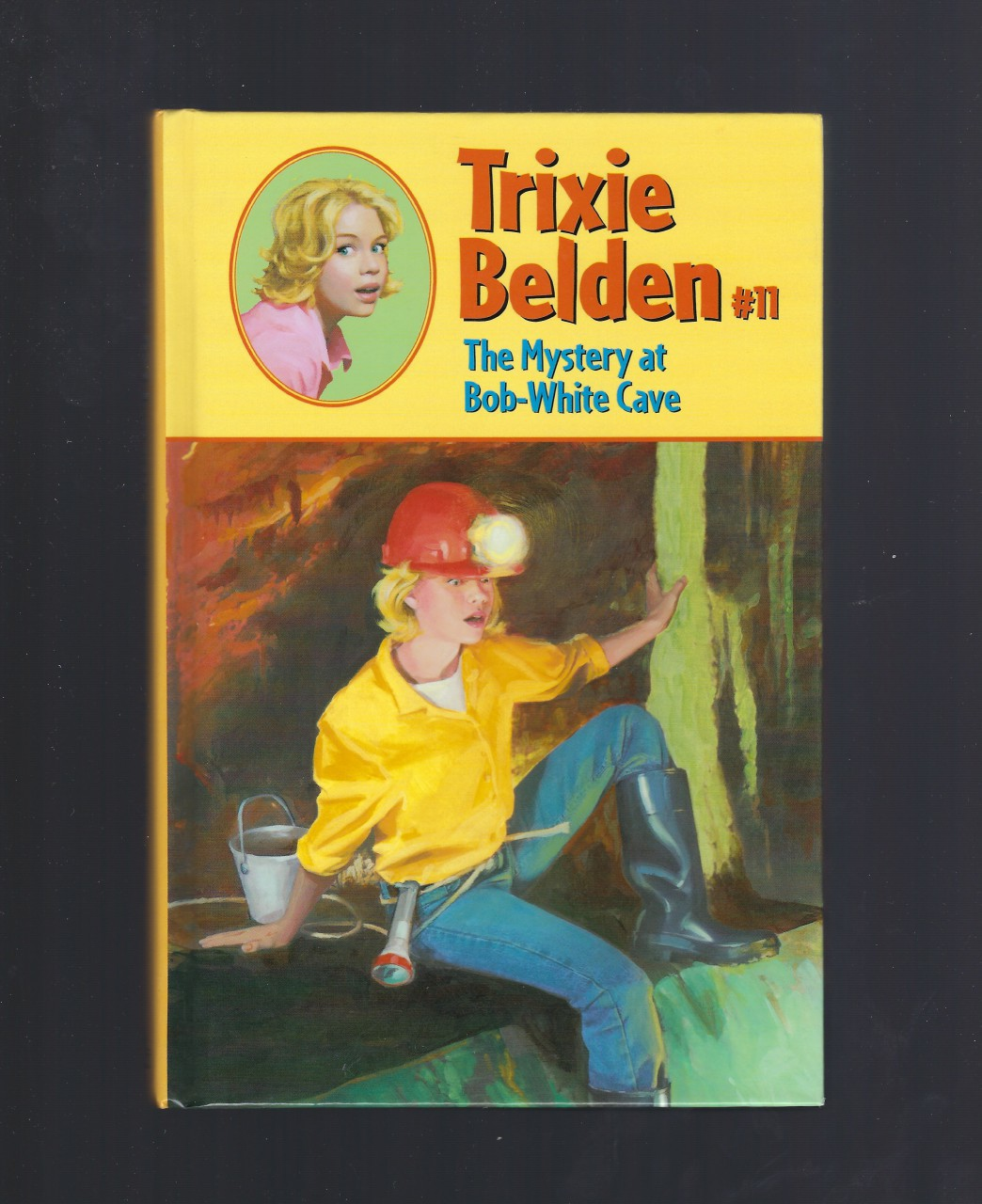 The Mystery at Bob-White Cave (Trixie Belden #11) Hardback, Kenny, Kathryn
