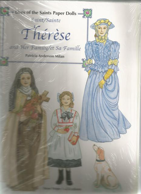 Saint Therese And Her Family Lives Of The Saints Paper Dolls, Patricia Anderson Milan