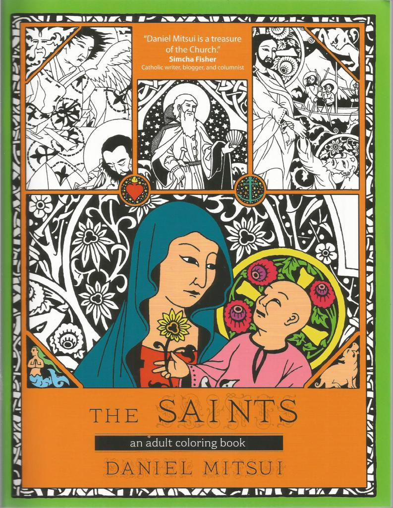 The Saints: An Adult Coloring Book, Daniel Mitsui