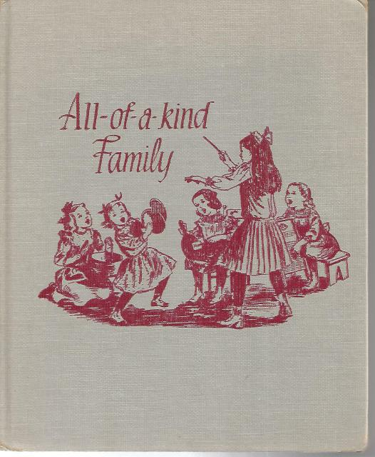 All Of A Kind Family Signed By Author Sydney Taylor Vintage HB 1956, Sydney Taylor