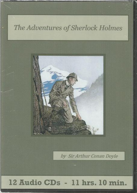 The Adventures of Sherlock Holmes Audiobook CD Set, Sir Arthur Conan Doyle